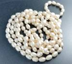 Freshwater Hand Knotted Pearls 64 Inches