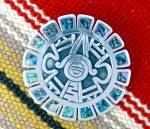 Click to view larger image of Brooch SALVADORE TERAN Mexico Sterling Silver  (Image5)
