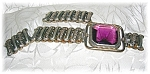 Click here to enlarge image and see more about item BH89: Gold/Sterling Silver LUSTERN Expanda Bracelet