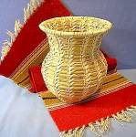 Papago  Basket Tohono O'odham Native American Basket
