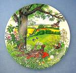 Wedgwood Collector Plate Meadows and Wheatfields 1987