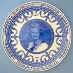 Wedgwood Plate, Queen Elizabeth's Golden Jubilee