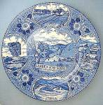 Staffordshire Garden of the Gods Colorado Plate