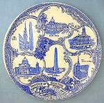 Boston Souvenir  Old English Staffordshire Plate