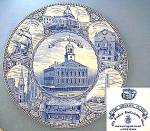 Click here to enlarge image and see more about item C1012200801: Staffordshire Historic Boston. Faneuil Hall Collector P