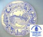 Click here to enlarge image and see more about item C1012200802: University of Illinois Staffordshire collector's plate