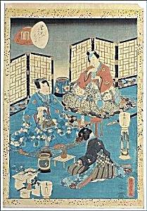 KUNISADA II Utagawa (TOYOKUNI IV) (1823-1880) (Image1)