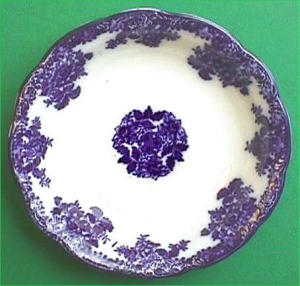 Flow Blue: WALDORF serving bowl (Image1)