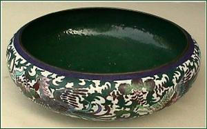 Antique Cloisonné bowl (signed) (Image1)
