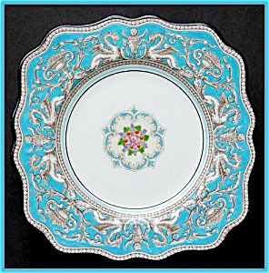 Wedgwood Florentine sq. salad/dessert plate (Image1)