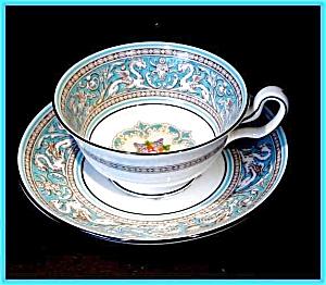 Wedgwood Florentine cup & saucer (Image1)