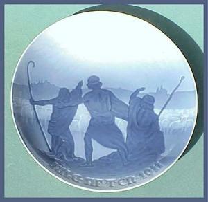 Bing and Grondahl Christmas plate (Image1)