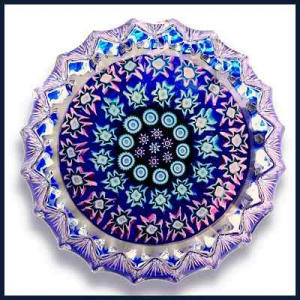 Perthshire: Concentric millefiori paperweight (Image1)