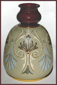 Lovatt Pottery vase (c. 1890) (Image1)