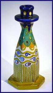 "Gouda: Arts and Crafts candlestick (""Simona"") (Image1)"