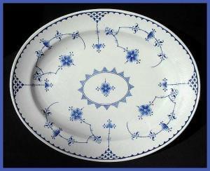 """Furnivals """"Denmark"""" platter (Image1)"""