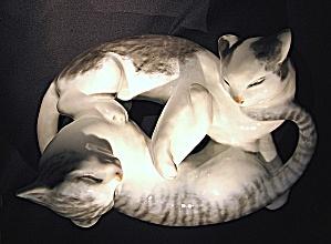 Rosenthal: Playful cats  figurine (Image1)