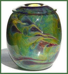 Early Kent Ipsen art glass vase  (1975) (Image1)