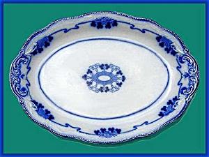 Flow Blue: LORNE large platter (Image1)