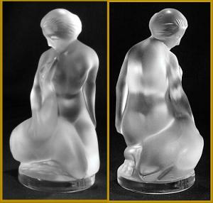 Lalique nude with swan (Image1)