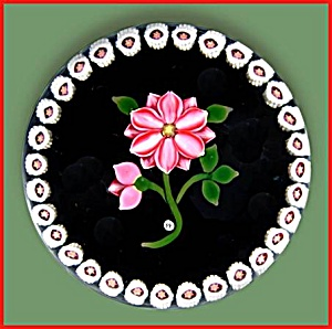 Phoenix: Pink floral paperweight LE (Image1)