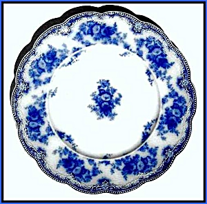 Flow Blue: FLORIDA plate (Image1)
