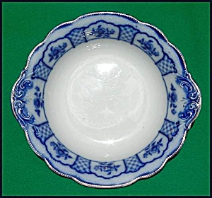 Flow Blue: MELBOURNE serving bowl (Image1)