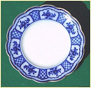 Flow Blue: MELBOURNE bread and butter plate (Image1)