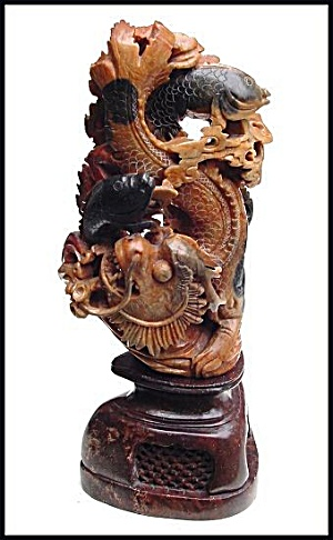Carved soapstone sculpture (Image1)