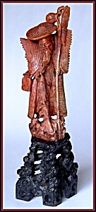 "Carved soapstone figure: ""God of ..."" (Image1)"