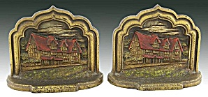 Vintage Shakespear's House bookends (Image1)