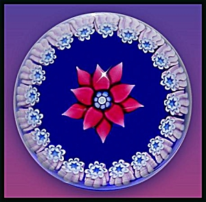 Peter  McDougall: Miniature clematis paperweight (Image1)