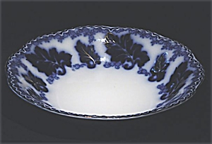 Flow Blue: NORMANDY soup bowl (Image1)
