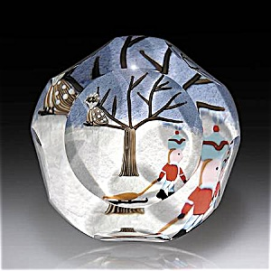 Perthshire 1998: Winter holiday paperweight (Image1)