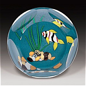 Perthshire 1999: Tropical Fish Paperweight
