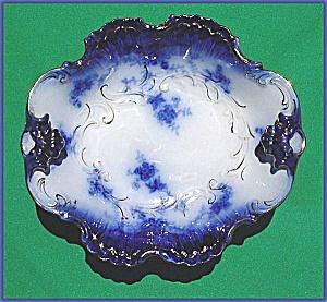 Flow Blue: LA BELLE serving bowl (Image1)