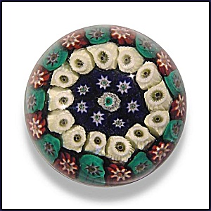 Strathearn: Concentric Millefiori Paperweight