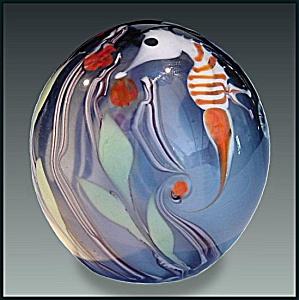 Bridgeton Studio: Seahorse paperweight (Chris Buzzini) (Image1)