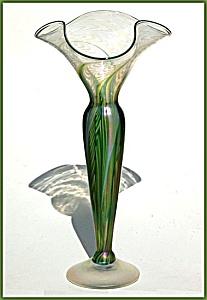 "Lundberg Studios ""Natalia Verde"" vase (Image1)"