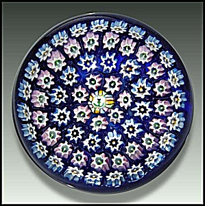 John Deacons: Concentric Milefiori Paperweight