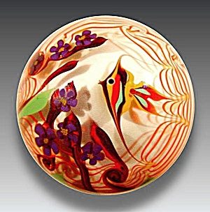 Bridgeton Studio: Tropical fish paperweight (Chris Buzzini) (Image1)