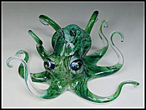 Soul Glass: Octopus sculpture (Michael Hopko) (Image1)