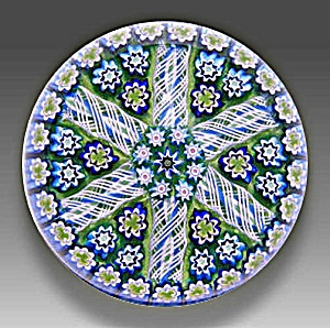 Peter McDougall: Patterned millefiori paperweight (Image1)