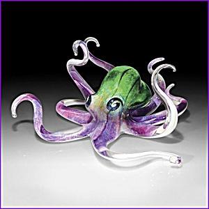 Soul Glass Octopus sculpture (Image1)