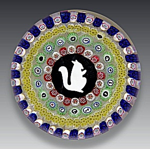 Baccarat 1972: Gridel squirrel paperweight (Image1)