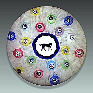 Baccarat 1973: Gridel horse paperweight (Image1)