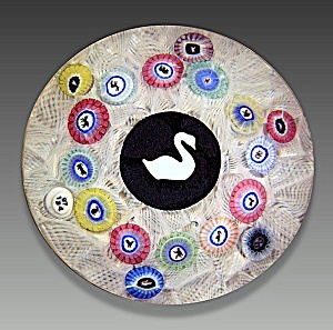 Baccarat 1974: Gridel swan paperweight (Image1)