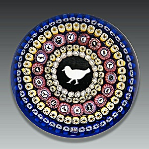 Baccarat 1979: Gridel pigeon paperweight (Image1)