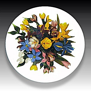 Rick Ayotte 1993: Spring Bouquet Paperweight