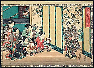 KUNISADA Utagawa (TOYOKUNI III) (1786-1865) (Image1)